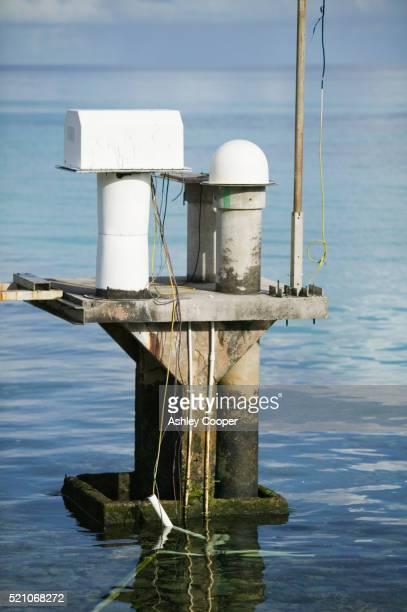 Tide Monitoring Gauge on Funafuti Atoll
