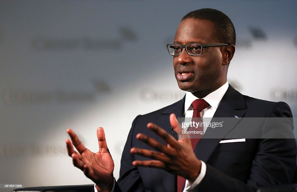Credit Suisse Group AG Chief Executive Officer Tidjane Thiam Presents Second-Quarter Earnings : News Photo