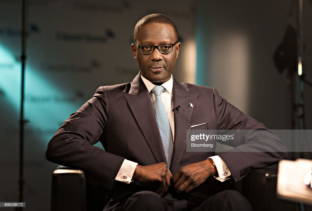 Credit Suisse Group AG Chief Executive Officer Tidjane Thiam Interview As Bank Posts Loss Of $2.3 Billion