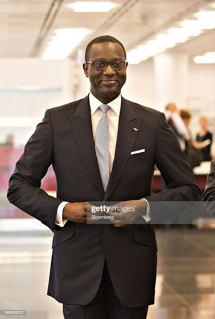 Credit Suisse Group AG Chief Executive Officer Tidjane Thiam Interview As Bank Posts Surprise Profit