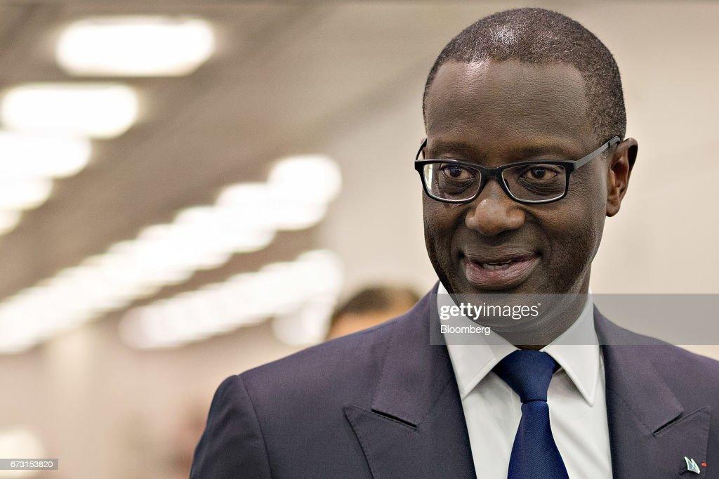 Credit Suisse Group AG Chief Executive Officer Tidjane Thiam Presents First-Quarter Earnings