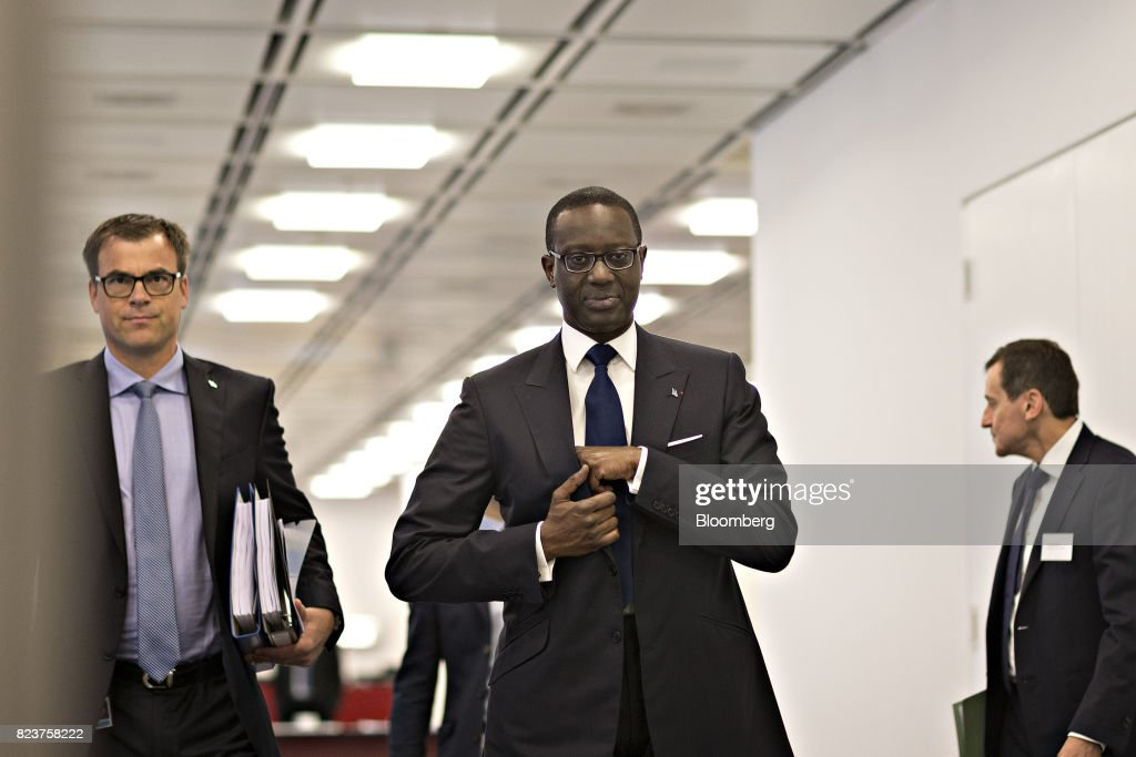 Credit Suisse Group AG CEO Tidjane Thiam Interview As Swiss Lender Reports Profit Increase