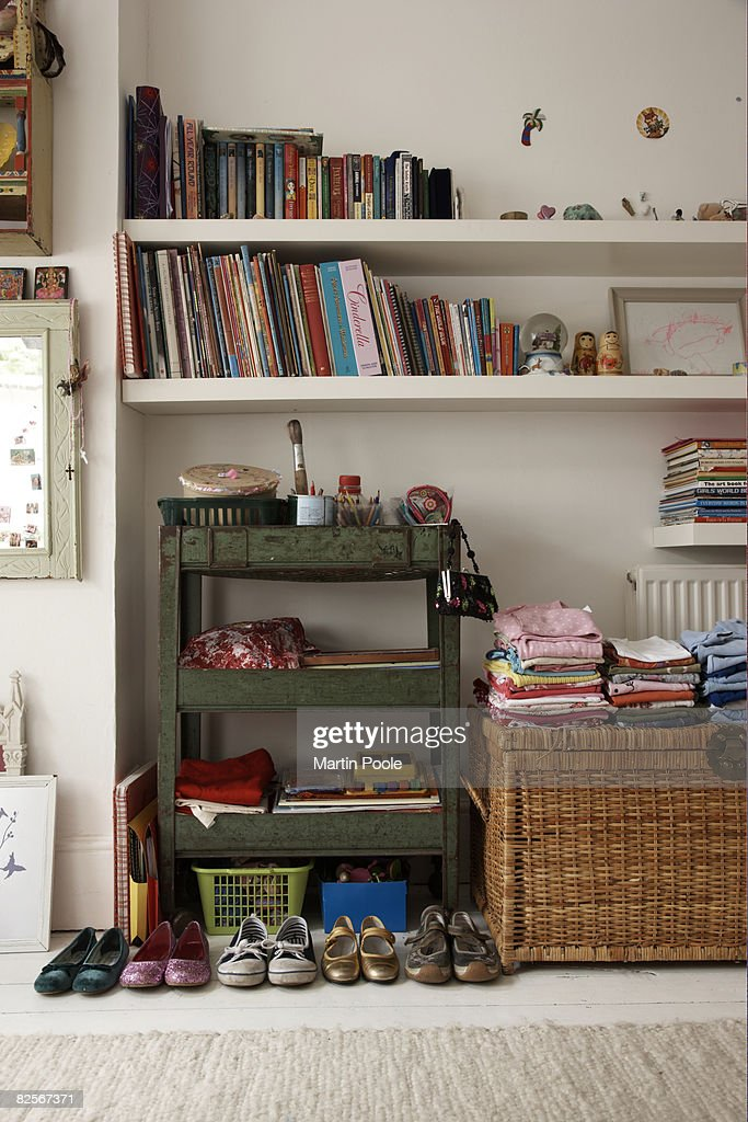 tidy childs bedroom : Stock Photo