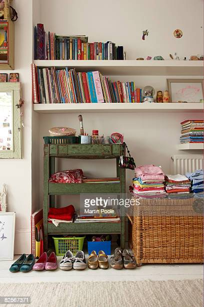 tidy childs bedroom - neat stock pictures, royalty-free photos & images