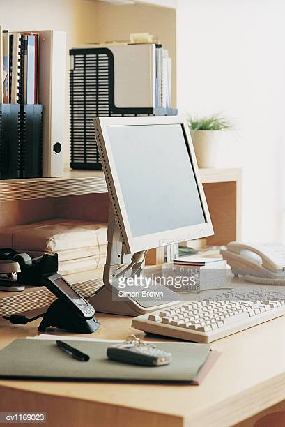 Tidy Desk in an Office