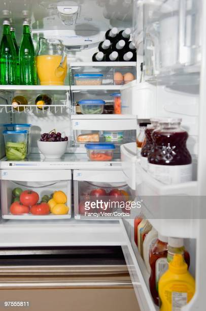 tidy fridge - neat stock pictures, royalty-free photos & images