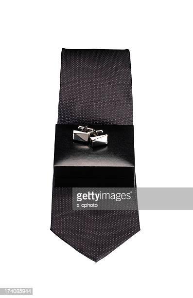 Krawatten und Manschettenknöpfe Clipping Path (Klicken Sie hier, um weitere Informationen)