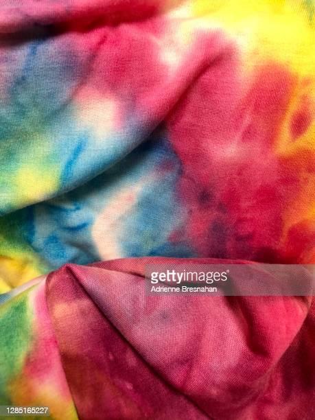 tie dye fabric - 絞り模様 ストックフォトと画像
