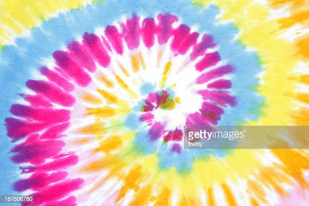 tie dye swirl - tie dye stock pictures, royalty-free photos & images