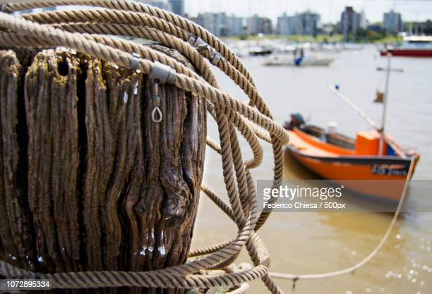 Tied Boat