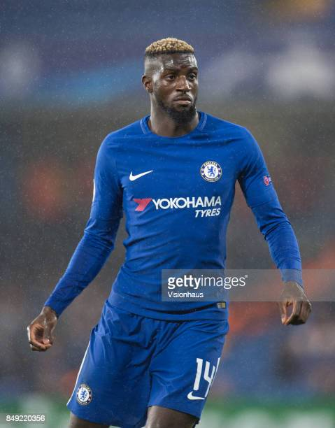 Tiemoué Bakayoko of Chelsea during the UEFA Champions League Group C match between Chelsea FC and Qarabag FK at Stamford Bridge on September 12 2017...