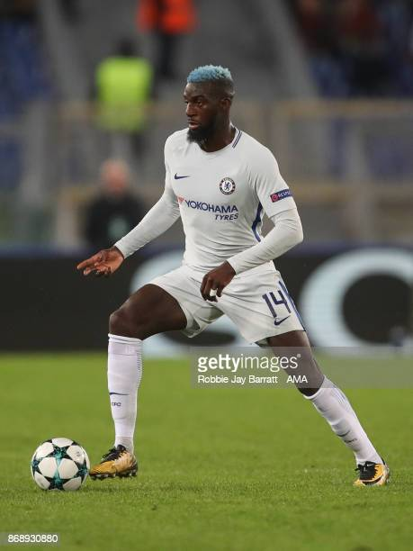 Tiemoué Bakayoko of Chelsea during the UEFA Champions League group C match between AS Roma and Chelsea FC at Stadio Olimpico on October 31 2017 in...
