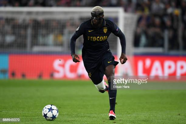 Tiemoue Bakayoko of AS Monaco in action during the UEFA Champions League Semi Final second leg match between Juventus and AS Monaco at Juventus...