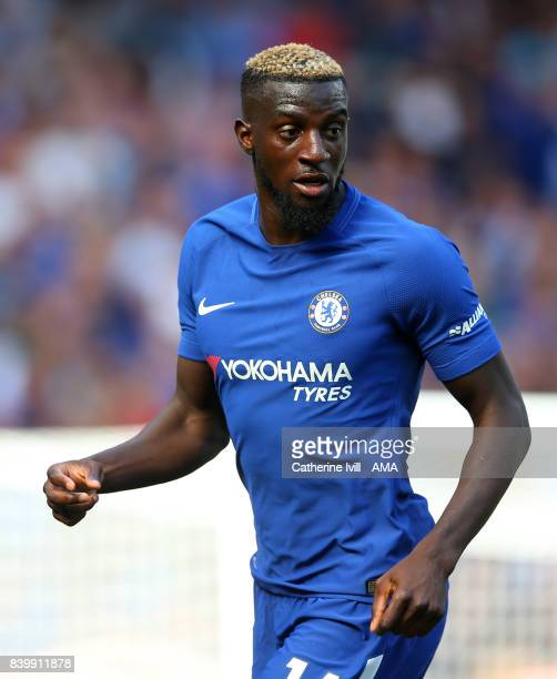 Tiemoue Bakayoko of Chelsea during the Premier League match between Chelsea and Everton at Stamford Bridge on August 27 2017 in London England