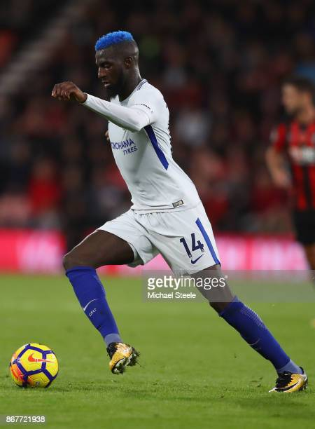 Tiemoue Bakayoko of Chelsea during the Premier League match between AFC Bournemouth and Chelsea at Vitality Stadium on October 28 2017 in Bournemouth...