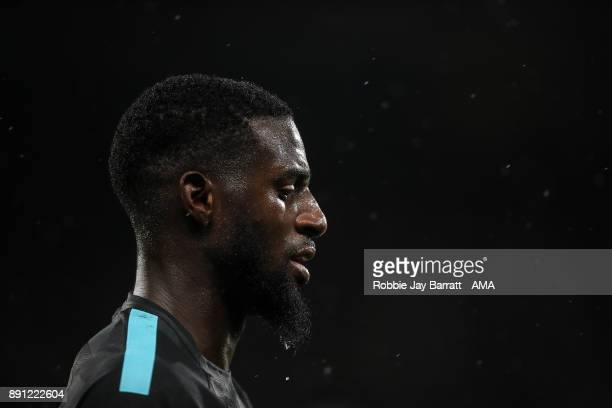 Tiemoue Bakayoko of Chelsea during the Premier League match between Huddersfield Town and Chelsea at John Smith's Stadium on December 12 2017 in...