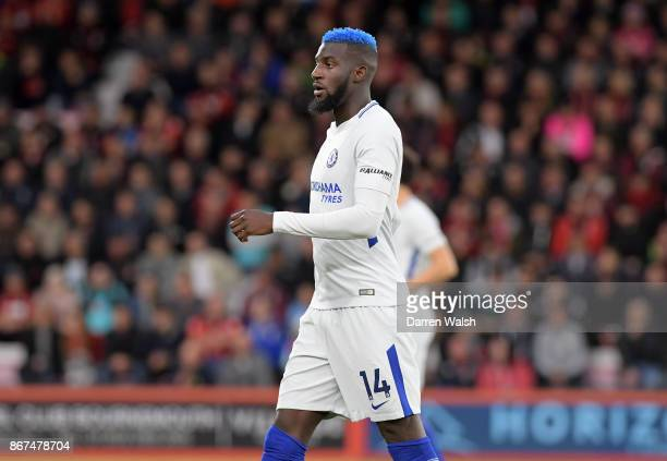 Tiemoue Bakayoko of Chelsea in action during the Premier League match between AFC Bournemouth and Chelsea at Vitality Stadium on October 28 2017 in...