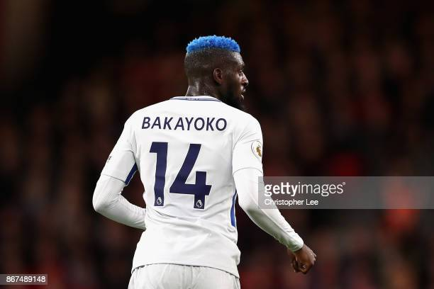 Tiemoue Bakayoko of Chelsea looks on during the Premier League match between AFC Bournemouth and Chelsea at Vitality Stadium on October 28 2017 in...