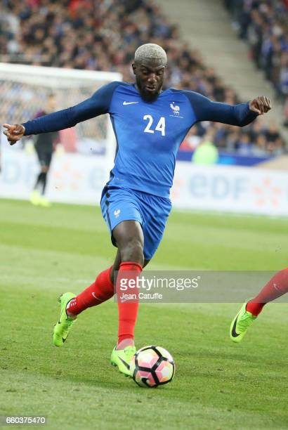 Tiemoue Bakayoko of France in action during the international friendly match between France and Spain between France and Spain at Stade de France on...