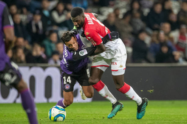 Championnat de France de football LIGUE 1 2018-2019-2020 - Page 33 Tiemoue-bakayoko-of-monaco-defended-by-mathieu-dossevi-of-toulouse-picture-id1191977568?k=6&m=1191977568&s=612x612&w=0&h=YjsF59-kszwsMs468iHz6JMze4rUlpuXHm3Lbzo-LQU=