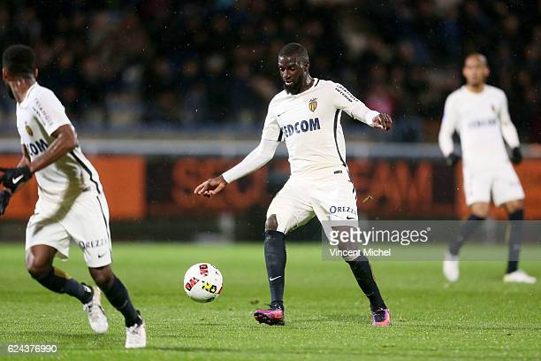 Tiemoue Bakayoko of Monaco during the Ligue 1 match between Fc Lorient and As Monaco at Stade du Moustoir on November 18 2016 in Lorient France
