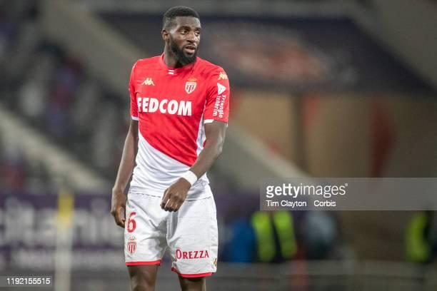 December 04: Tiemoue Bakayoko of Monaco during the Toulouse FC V AS Monaco, French Ligue 1 regular season match at the Stadium Municipal de Toulouse...