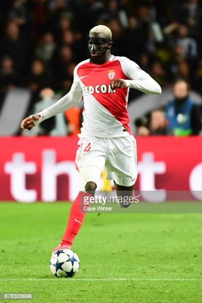 Tiemoue Bakayoko of Monaco during the Uefa Champions League match semi final first leg between As Monaco and Juventus FC at Stade Louis II on May 3...