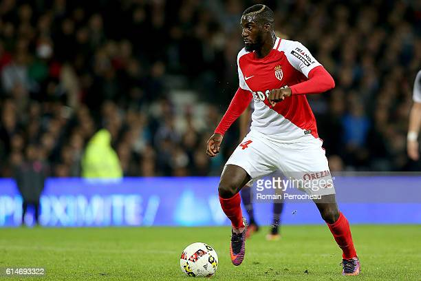 Tiemoue Bakayoko of Monaco in action during the French Ligue 1 match between Toulouse and Monaco at Stadium on October 14 2016 in Toulouse France