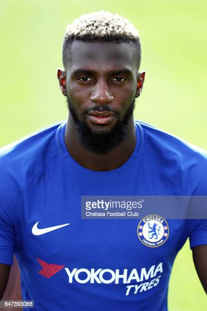 Tiemoue Bakayoko poses for a photo at Chelsea Training Ground on September 15 2017 in Cobham England