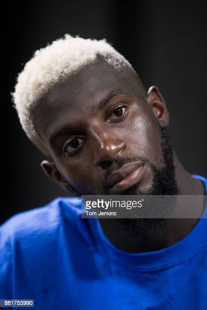 Tiemoue Bakayoko the France and Chelsea footballer poses for a portrait at the club's Cobham training ground on October 12th 2017 in CobhamSurrey