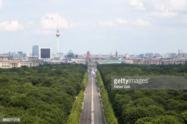 tiergarten, berlin, germany - freie straße stock-fotos und bilder