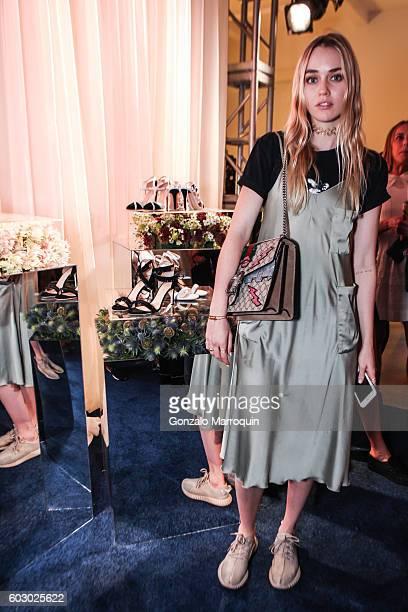 Tiernan Cowling at the Chloe Gosselin Presentation September 2016 MADE Fashion Week at MADE at Milk Studios on September 11 2016 in New York City