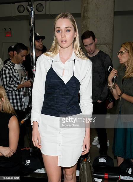 Tiernan Cowling attends the R13 fashion show during New York Fashion Week September 2016 at Skylight Modern on September 7 2016 in New York City