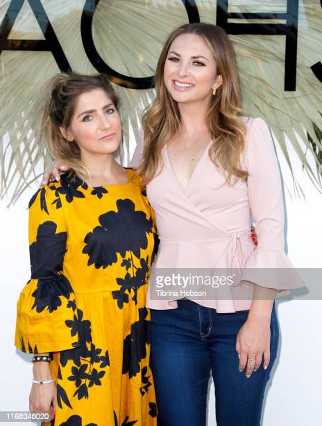 Tierney Bricker and Lauren Zima attend the KAOHS Swim presents Beached S/S 2020 Runway Show at Casita Hollywood on August 15 2019 in Los Angeles...