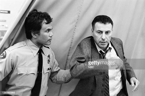 ST ELSEWHERE Ties That Bind Episode 1 Pictured Alan Arkin as Jerry Singleton