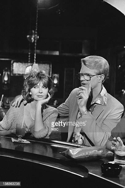 ST ELSEWHERE Ties That Bind Episode 1 Pictured Cassandra Peterson as Judy Ed Begley Jr as Dr Victor Ehlrich