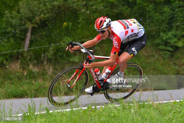 Tiesj Benoot of Belgium and Team Lotto Soudal / during the 106th Tour de France 2019, Stage 14 a 117km stage from Tarbes to Tourmalet Barèges 2115m -...