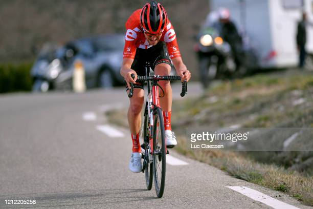 Tiesj Benoot of Belgium and Team Sunweb / during the 78th Paris - Nice 2020, Stage 6 a 161,5km stage from Sorgues to Apt 234m / #ParisNice /...