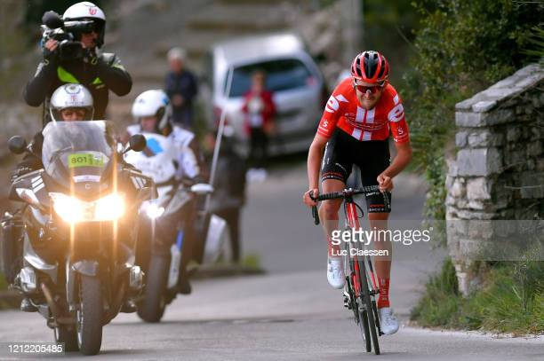 Tiesj Benoot of Belgium and Team Sunweb / during the 78th Paris Nice 2020 Stage 6 a 1615km stage from Sorgues to Apt 234m / #ParisNice /...