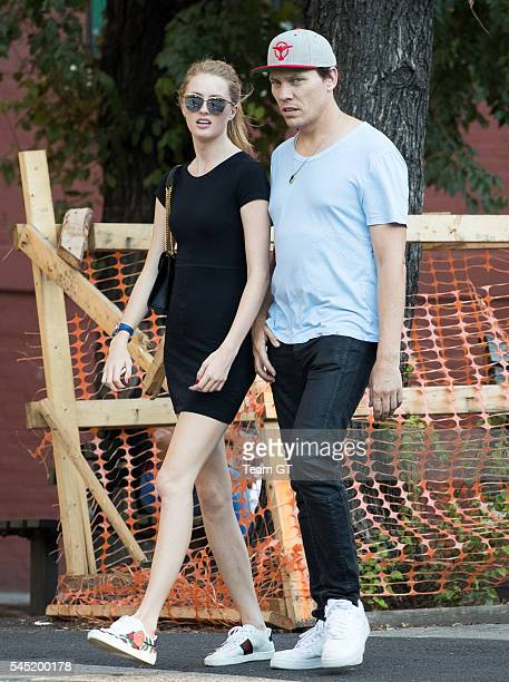 Tiesto and Annika Backes seen on July 6 2016 in New York City
