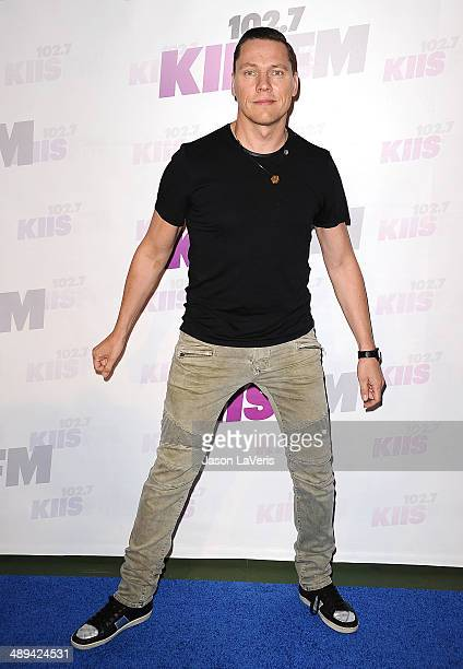 Tiesto attends 1027 KIIS FM's 2014 Wango Tango at StubHub Center on May 10 2014 in Los Angeles California