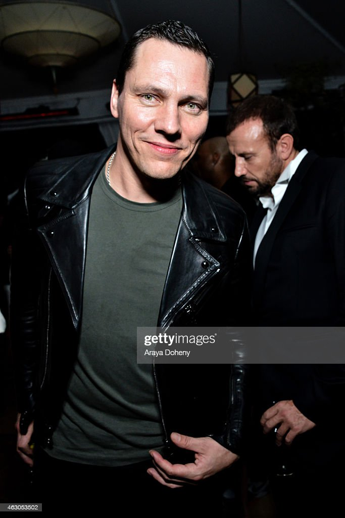 DJ Tiesto attends the Warner Music Group annual Grammy celebration at Chateau Marmont on February 8, 2015 in Los Angeles, California.