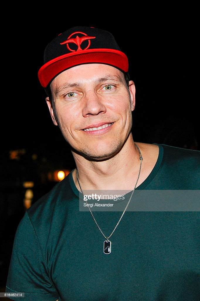 DJ Tiesto seen backstage at the Ultra Music Festival 2016 on March 18, 2016 in Miami, Florida.