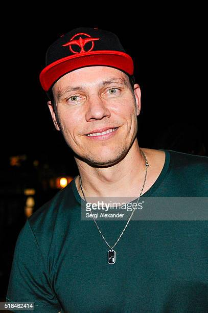 Tiesto seen backstage at the Ultra Music Festival 2016 on March 18 2016 in Miami Florida
