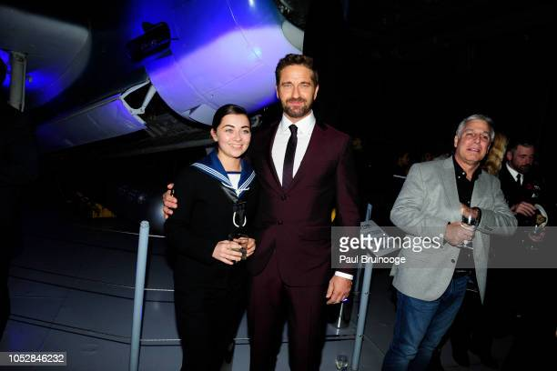 Tifanni Townsend and Gerard Butler attend Lionsgate With The Cinema Society Host The After Party For The World Premiere Of 'Hunter Killer' at...