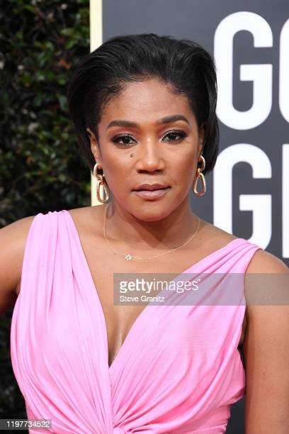 Tifany Haddish attends the 77th Annual Golden Globe Awards at The Beverly Hilton Hotel on January 05 2020 in Beverly Hills California