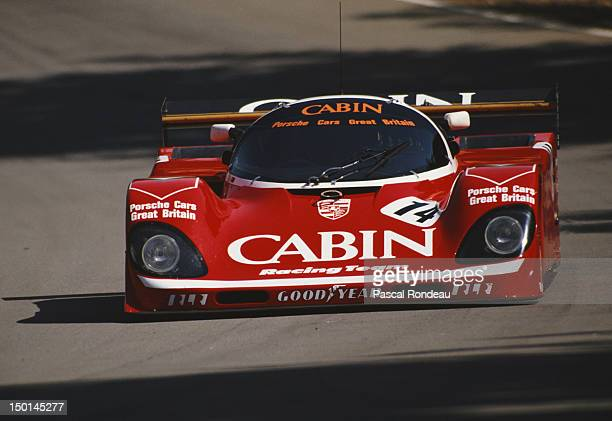 Tiff Needell of Great Britain drives the CABIN Richard Lloyd Racing Porsche 962 during the FIA World Sportscar Prototype Championship 1000 kms of...