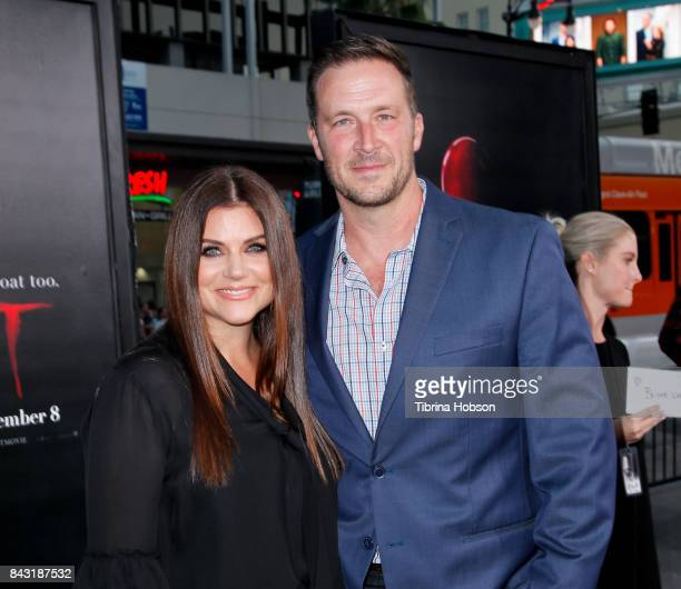 Tiffani Thiessen and Brady Smith attend the premiere of 'It' at TCL Chinese Theatre on September 5 2017 in Hollywood California
