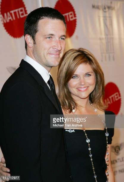 Tiffani Thiessen and Brady Smith during Wish Night 2006 Awards Gala at The Beverly Hills Hotel in Beverly Hills California United States