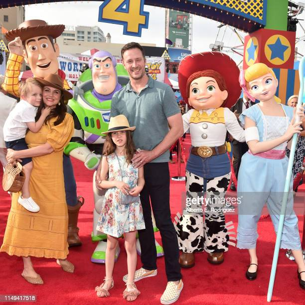 Tiffani Thiessen and family attend the world premiere of Disney and Pixar's TOY STORY 4 at the El Capitan Theatre in Hollywood CA on Tuesday June 11...
